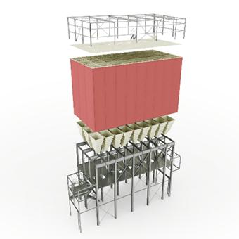 Storage fabrication bulk food concentrates