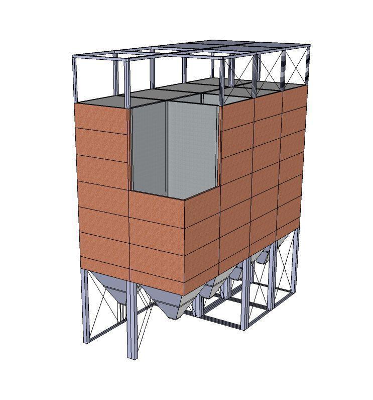 Square Silo Model