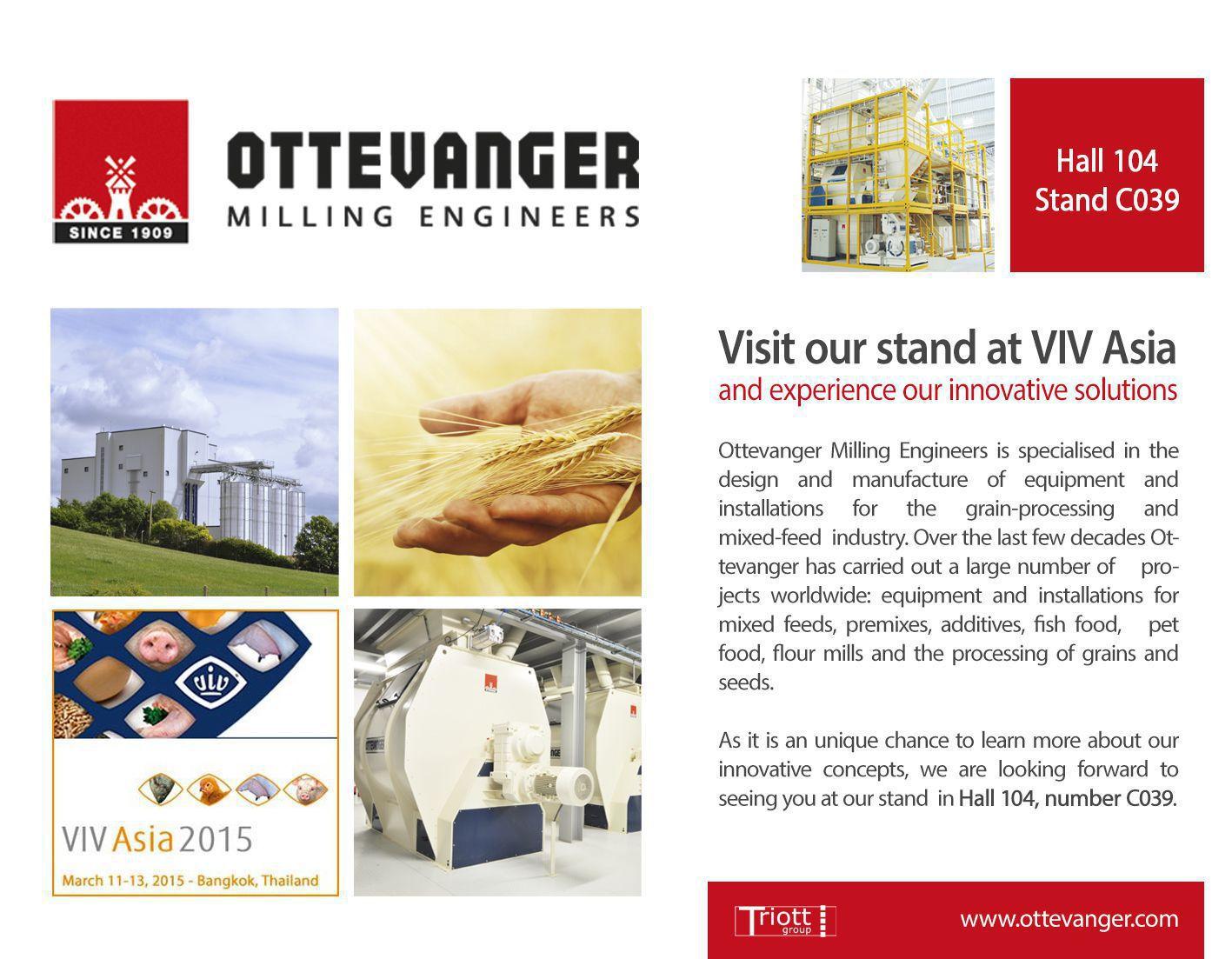 invitation VIV Asia 2015 Ottevanger